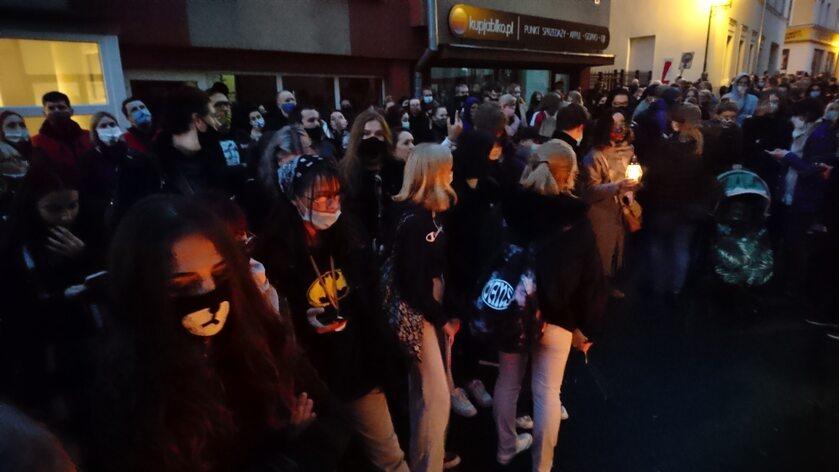 Protest po wyroku TK, Jelenia Góra - 23 października