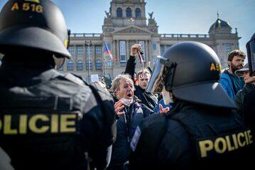 Protest w Czechach