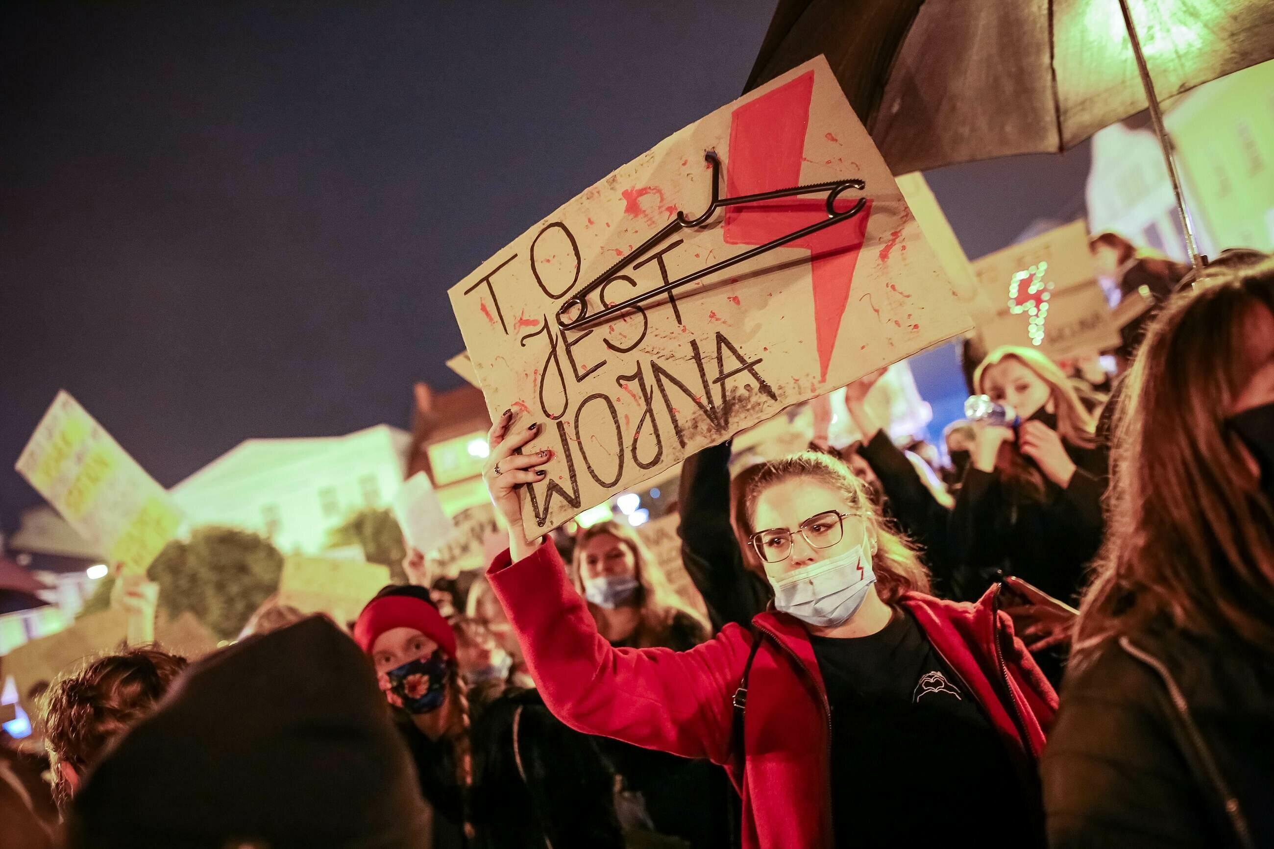 Protest w Rybniku