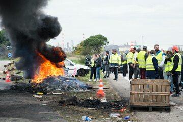 Protest we Francji przeciwko podwyżkom cen paliwa
