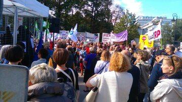 Protest ws. aborcji przed Sejmem