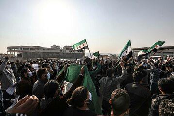 Protest ws. powrotu syryjskich uchodźców (zdjęcie ilustracyjne)