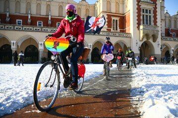 Protesty LGBT w Krakowie