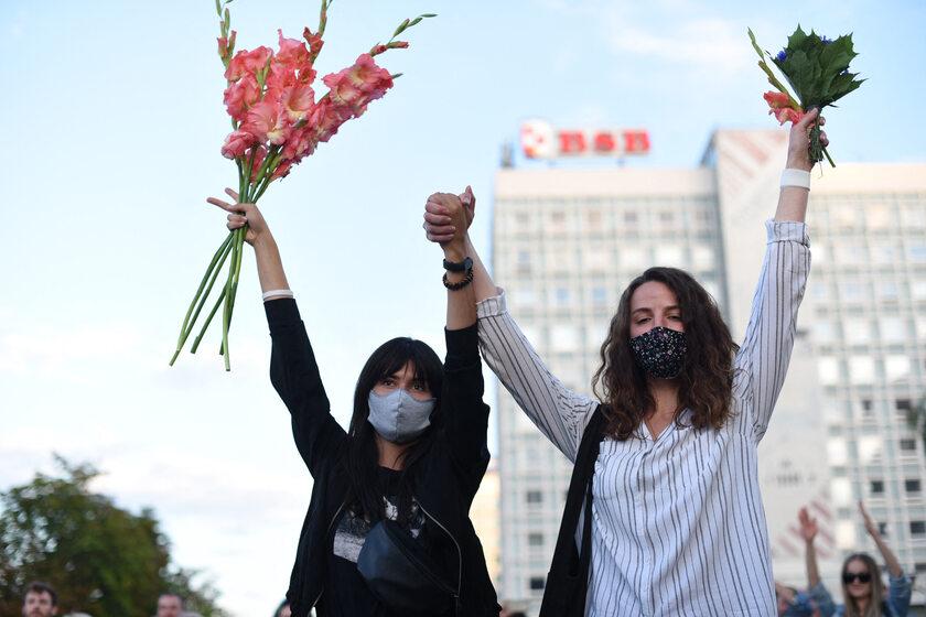 Protesty na Białorusi, zdjęcie ilustracyjne