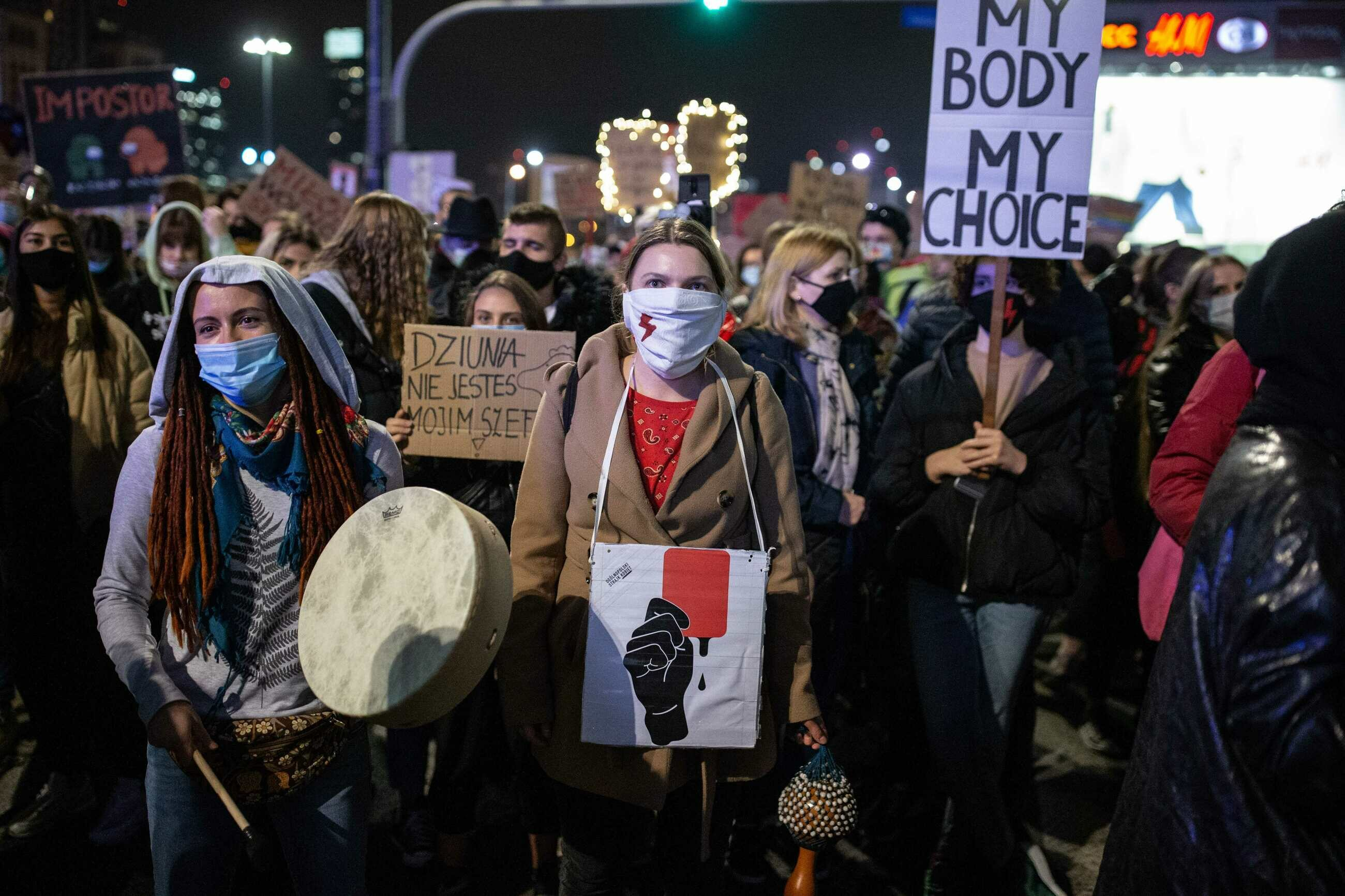 Protesty po wyroku TK ws. aborcji