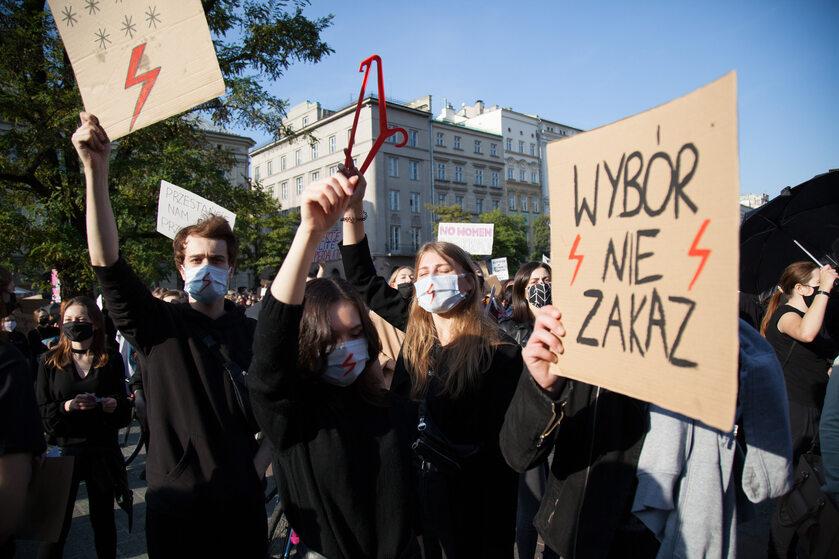 Protesty po wyroku TK