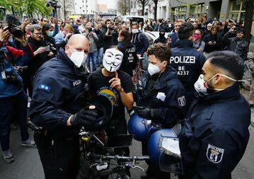 Protesty w Berlinie