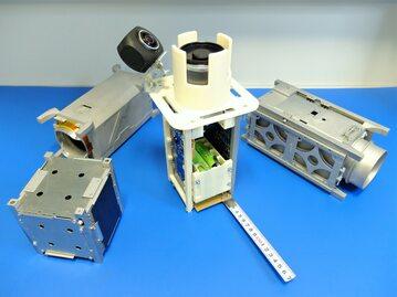 Prototyp satelity Światowid w trakcie przygotowań na stratosferyczny test balonowy