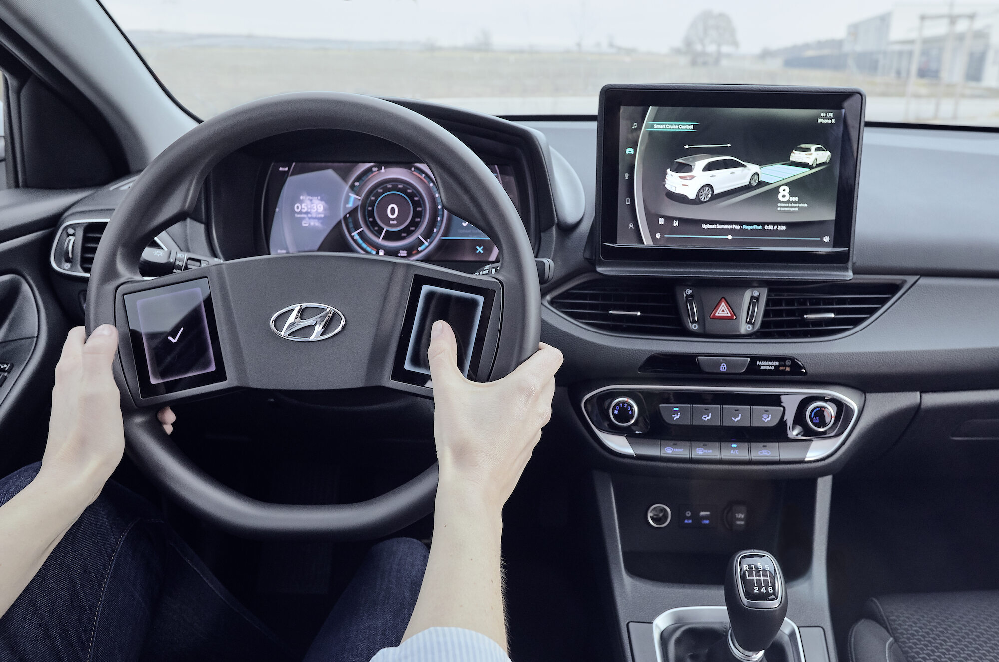 Prototypowy kokpit Hyundaia i30