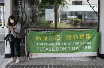 """Prowincja w Chinach wprowadzi złote """"kody zdrowia"""" dla zaszczepionych na COVID-19"""
