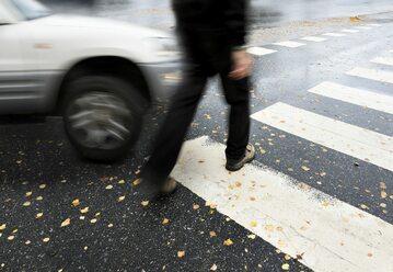 Przejście dla pieszych, zdjęcie ilustracyjne