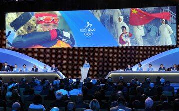 Przemówienie podczas prezentacji ofert na Zimowe Igrzyska Olimpijskie 2022 w Pekinie