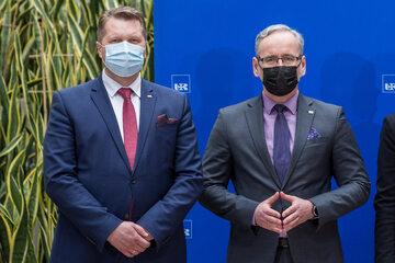 Przemysław Czarnek i Adam Niedzielski