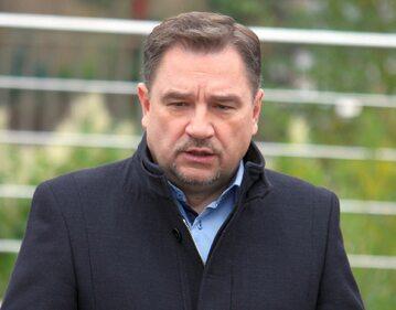 """Przewodniczący NSZZ """"Solidarność"""" Piotr Duda"""