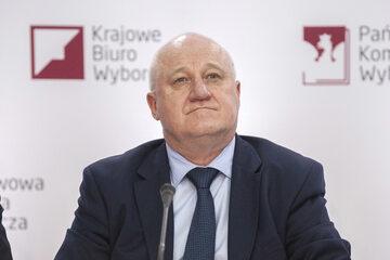 Przewodniczący PKW Sylwester Marciniak