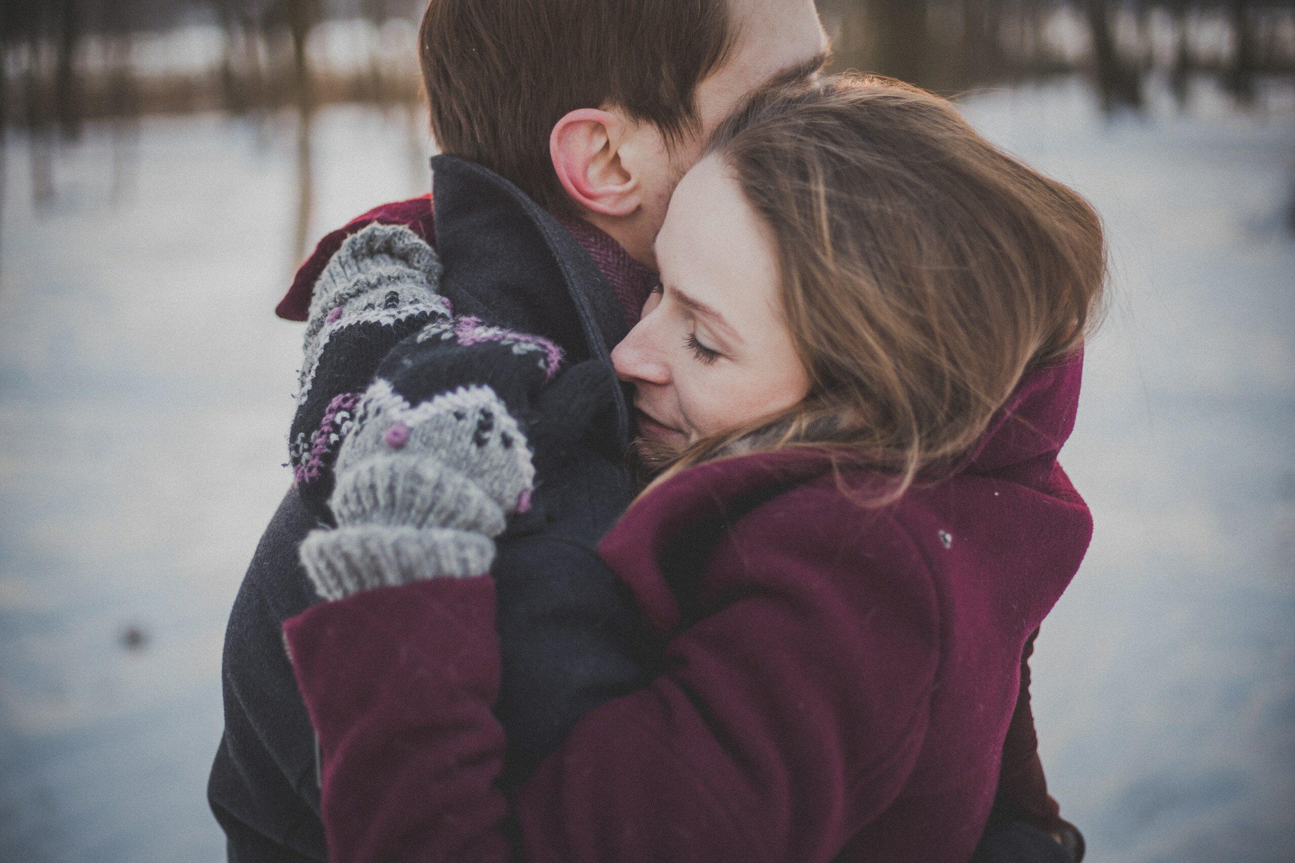 Przytulanie, zdjęcie ilustracyjne