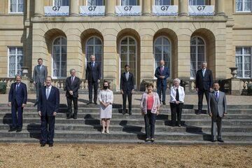 Przywódcy G7 spotkali się w Londynie