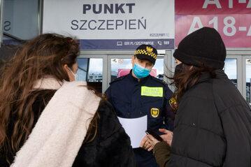 Punkt szczepień w Krakowie