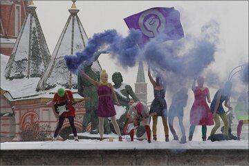 Pussy Riot w 2012 roku