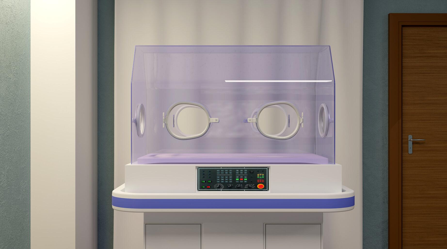 Pusty inkubator