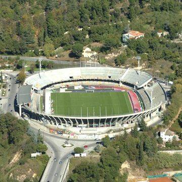 "Pusty stadion Ascoli ""Del Duca"""