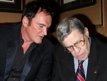 Quentin Tarantino (z lewej) i Jerry Lewis