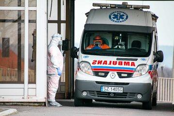 Racibórz, transport zakażonych koronawirusem