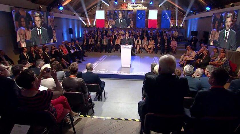 Rada Krajowa PO w Warszawie