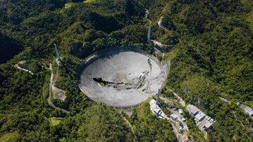 Radioteleskop w Arecibo