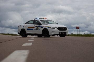 Radiowóz kanadyjskiej policji