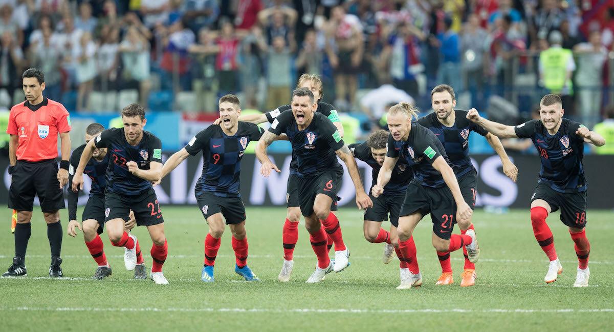 Radość Chorwatów po awansie do ćwierćfinału MŚ