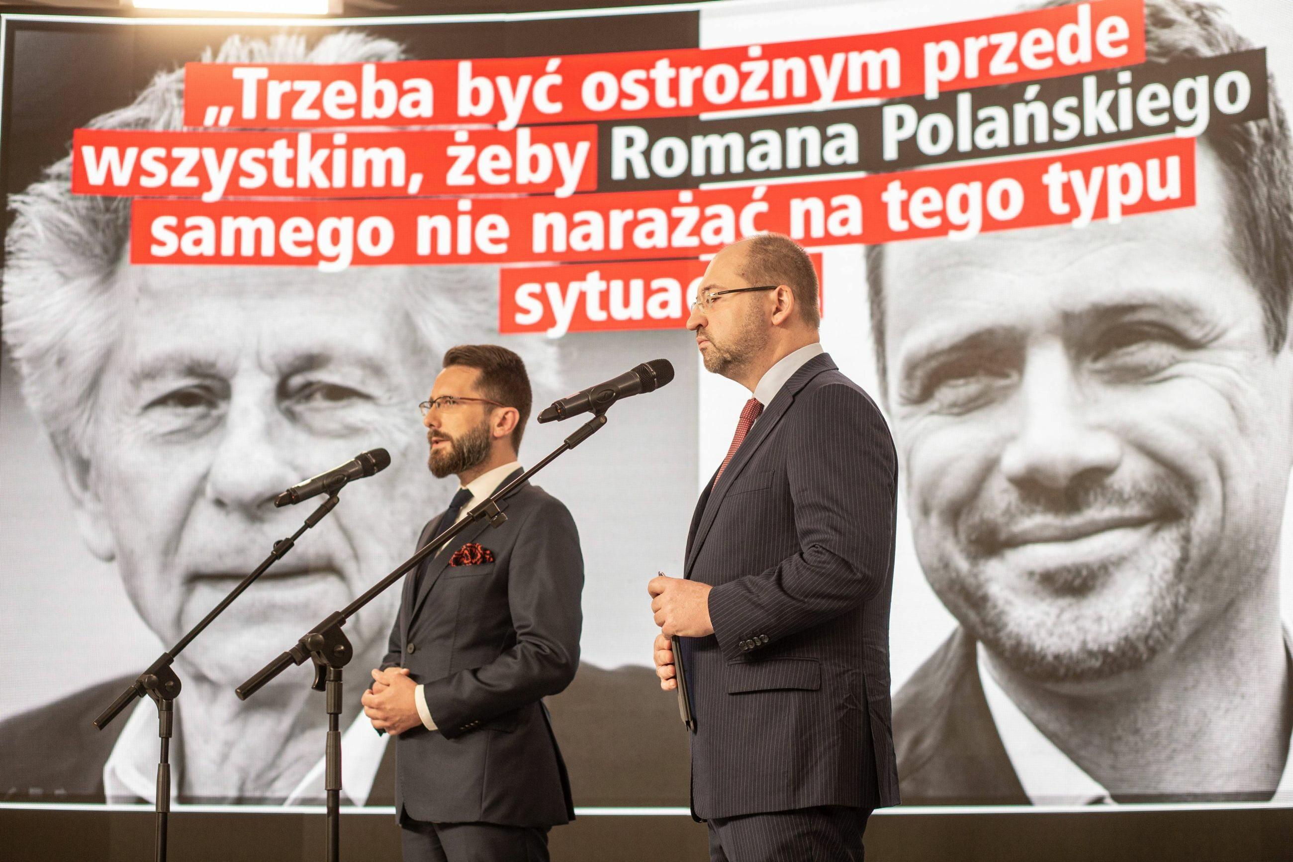Radosław Fogiel i Adam Bielan