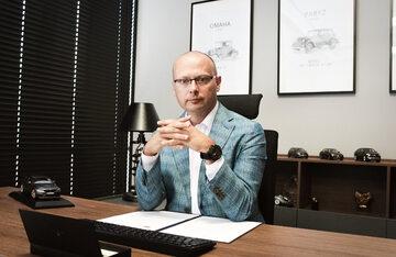 Rafał Pietrzak, prezes sieci wypożyczalni samochodów Car Net Polska