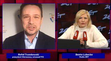 Rafał Trzaskowski w Radiu Zet