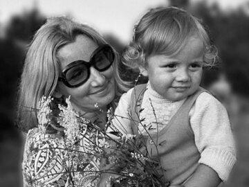 Rafał Trzaskowski z mamą