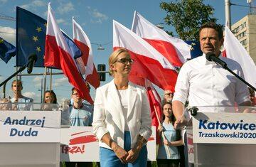 Rafał Trzaskowski z żoną
