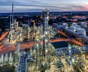 Rafineria PKN Orlen, zdjęcie ilustracyjne