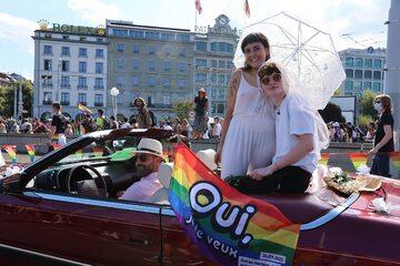 Referendum ws. małżeństw LGBT w Szwajcarii. Wrześniowa demonstracja w Genewie