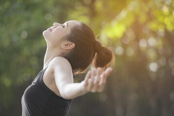 Regularne ćwiczenia oddechowe
