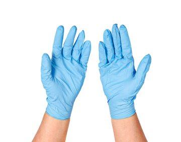 Rękawiczki lateksowe