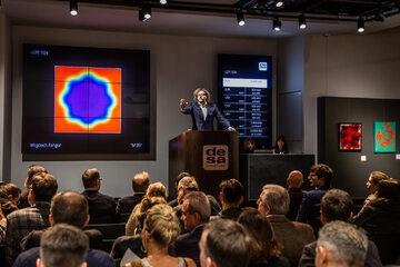 Rekordowa aukcja obrazu Wojciecha Fangora w DESA Unicum