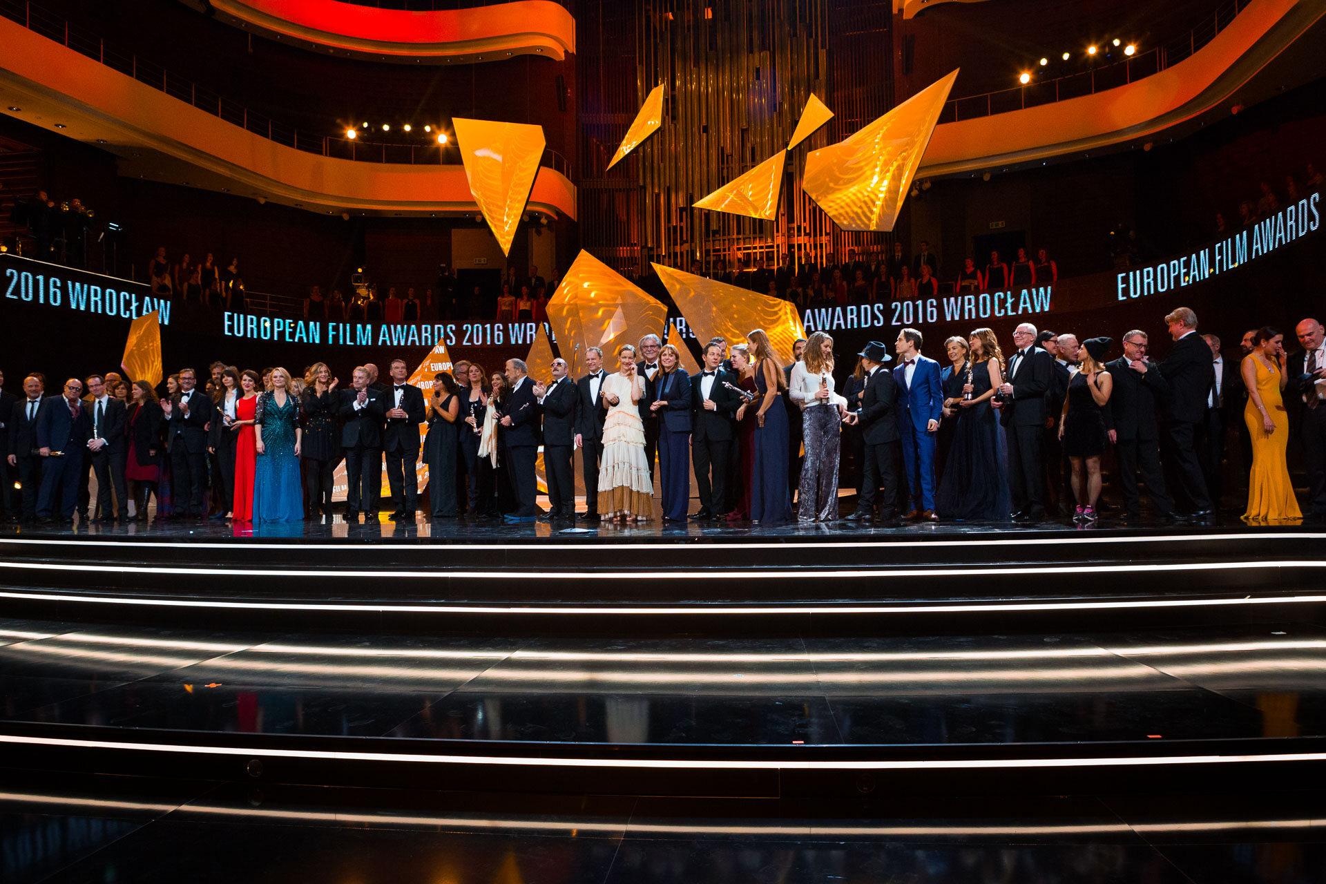 Relacja z przebiegu Europejskiej Nagrody Filmowej 2016