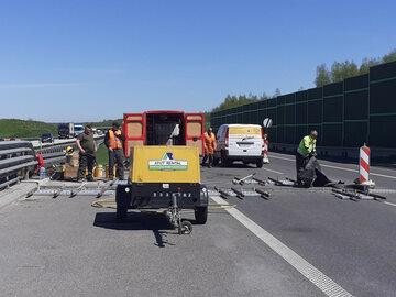Remont na autostradzie A1