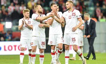 Reprezentacja Polski: Jóźwiak, Puchacz, Bednarek, Helik