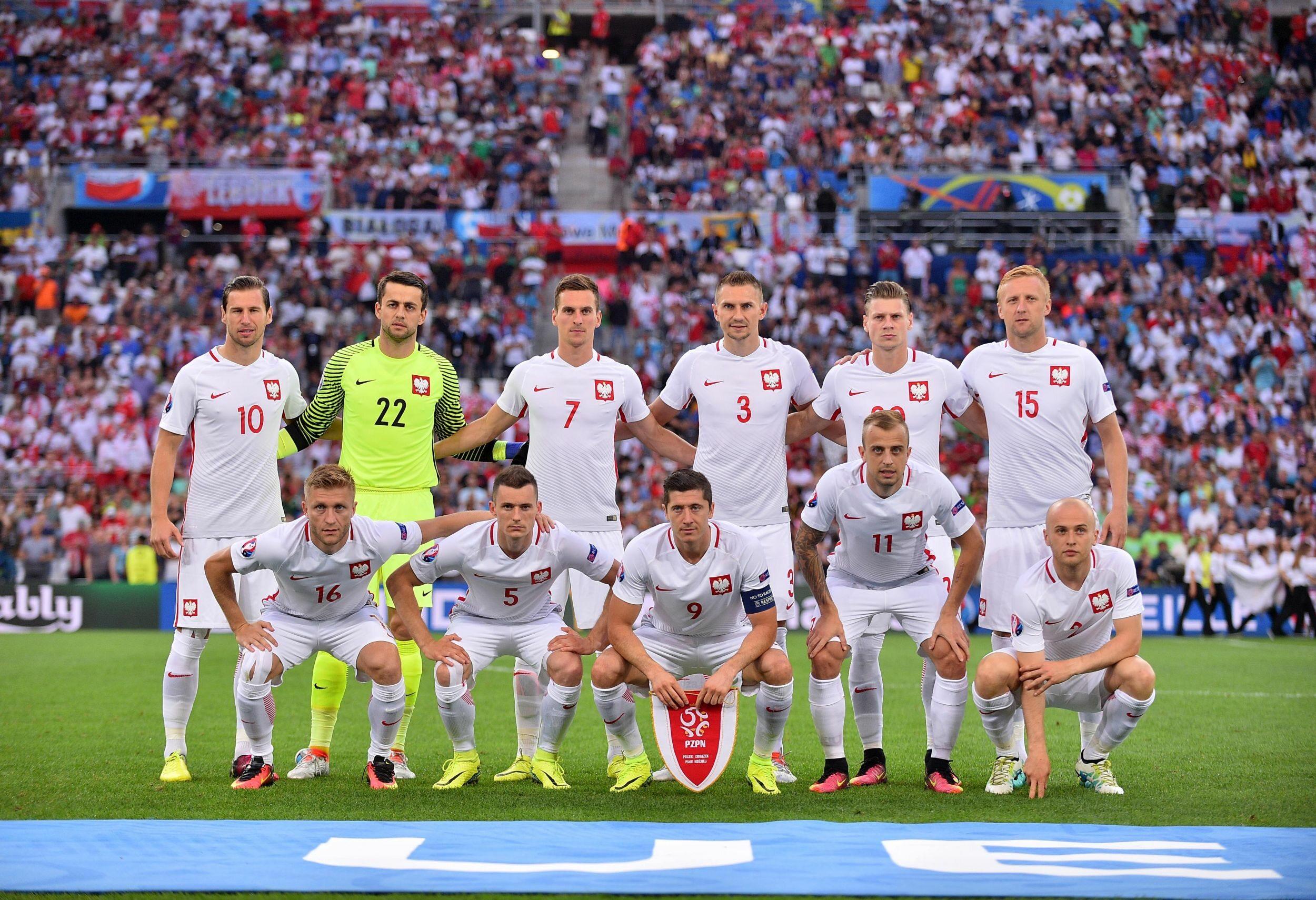 Reprezentacja Polski przed meczem ćwierćfinałowym z Portugalią w Euro 2016