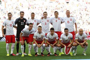 Reprezentacja Polski przed meczem z Ukrainą