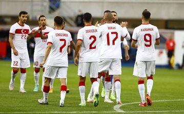 Reprezentacja Turcji w meczu z Niemcami