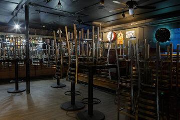 Restauracja zamknięta z powodu koronawirusa