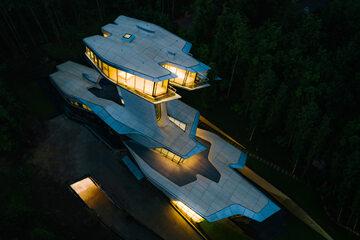 Rezydencja autorstwa Zahy Hadid