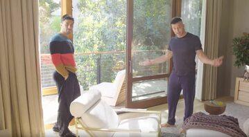 Ricky Marin z mężem Jwanem Yosefem